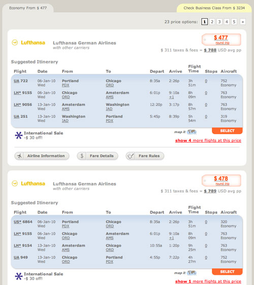 how to search for airline tickets