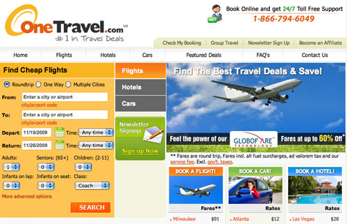 Picture suggestion for Onetravel Onetravel