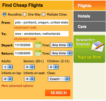 How to search OneTravel.com for flights | Cheap Ticket Links Onetravel